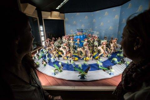 Zoótropo con los personajes de Toy Story